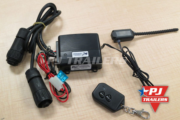 wireless remote for trailers  pj trailers