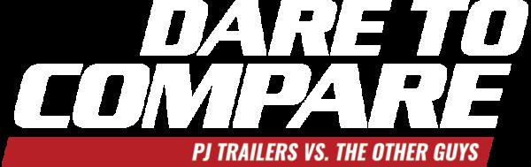Dare to Compare Dump Trailers | PJ Trailers