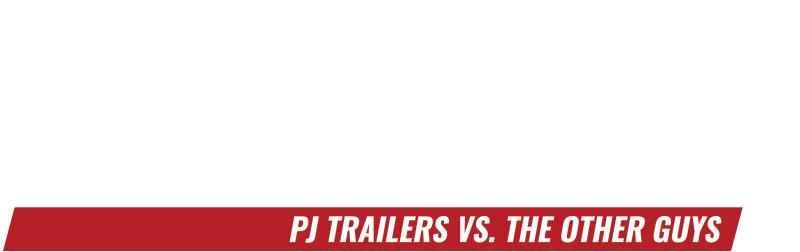Dare to Compare: PJ Trailers vs. The Other Guys Logo
