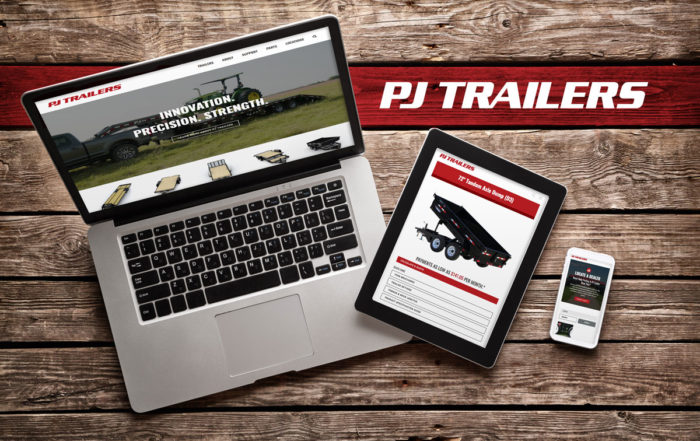 PJ Trailers Website