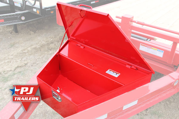 Full-size divided toolbox