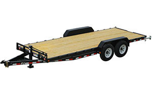 PJ Trailers CC 6 inch channel equipment trailer